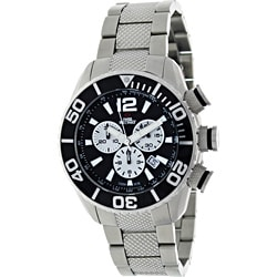 Swiss Precimax Men's Deep Blue Pro Stainless Steel Watch