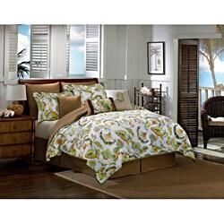 Caribbean Floral Comforter Set