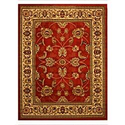 Pat Mahal Oriental Red Rug (3'3 x 4'6)