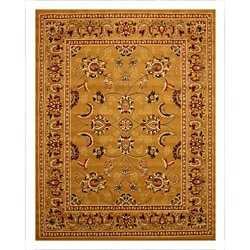 Pat Mahal Oriental Caramel Rug (4'9 x 6'6)