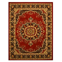 Pat Medallion Oriental Red Rug (3&#39;3 x 4&#39;6)