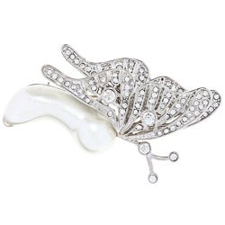 Kenneth Jay Lane Butterfly Pin