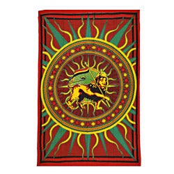 Jah Lion Print Tapestry (India)