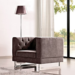 Dark Raisin Grey Allegro Chair