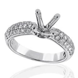 14kt White Gold 1/2ct TDW Diamond Engagment Ring
