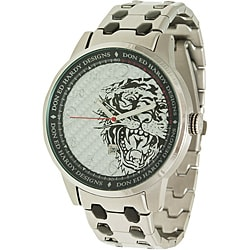 Ed Hardy Men's Midnight Silver Watch