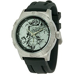 Ed Hardy Men's Matrix Black Watch