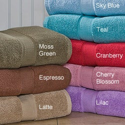 Calcot Supima Cotton Zero Twist 6-piece Bath Towel Set