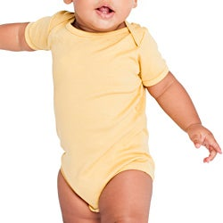 American Apparel Kids' Organic Infant Baby Rib One-Piece