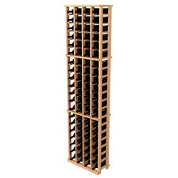 Traditional Redwood 4-Column Wine Rack