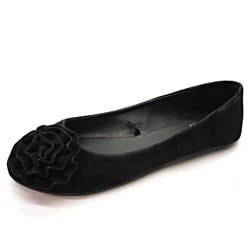 Blue Women's 'Pagonia' Black Flats