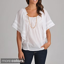 Chelsea &amp; Theodore Women&#39;s Cotton Voile Top