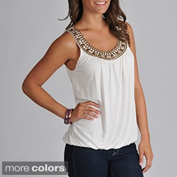 Grace Elements Women&#39;s Studded Tank Top
