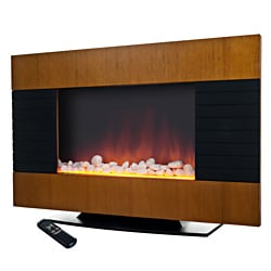 Northwest Merlin Electric 2-in-1 Heater Fireplace