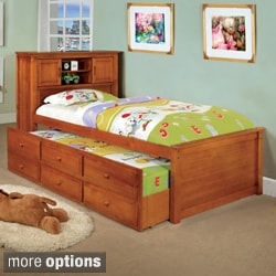 Enitial Lab Three-drawer Trundle Set Bookcase Bed