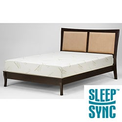 Sleep Sync 12-inch Cal King-size Memory Foam Mattress