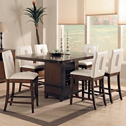 Lancester 7-piece Dining Set with Key Hole Chairs