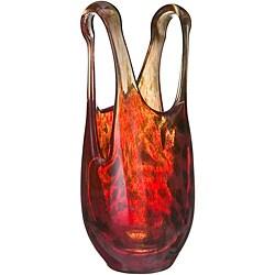 Kosta Boda Catwalk Red Vase