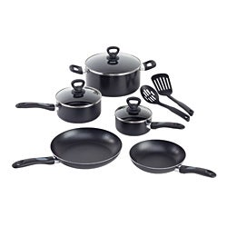 WearEver Comfort Grip 10-piece Cookware Set