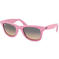 Ray-Ban RB 2140 Original Wayfarer 885/N1 Matte Pink Plastic Sunglasses