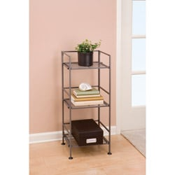Seville 3-tier Square Folding Shelf