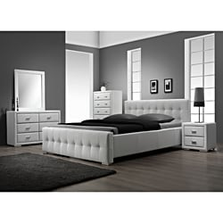 Sierra White 5-piece Queen Size Bedroom Set