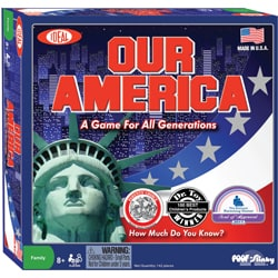 Poof-Slinky Our America Ideal Trivia Game
