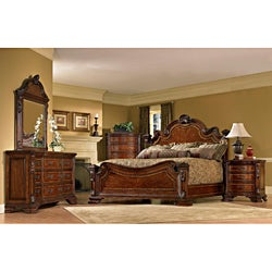 Old World Estate 5-piece set Queen-size Bedroom Set
