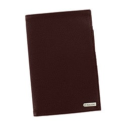 Rolodex Low Profile Business Brown Card Holder