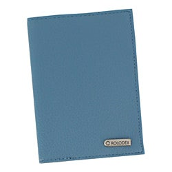 Rolodex Low Profile Blue Passport Folio/Wallet Holder