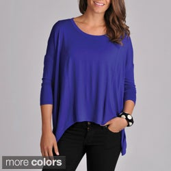 Grace Elements Women&#39;s Uneven Hem Pullover Top