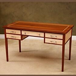 Wood Revival Natural Maple Poet's Desk