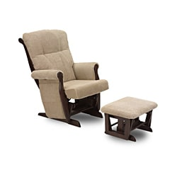 Edward Glider Rocker with Ottoman and Side Table