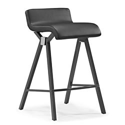 Zuo Xert Grey Counter Chairs (Set of 2)