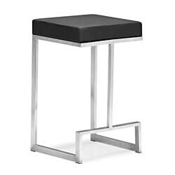 Zuo Darwen Black Counter Chairs (Set of 2)