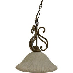 One Light Sienna Nook Pendant