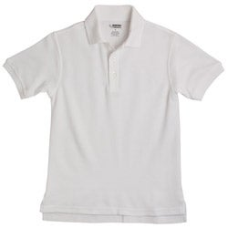 French Toast Boy's School Uniform White Polos Size 12 (Set of 2)