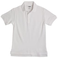 French Toast Boy's School Uniform White Polos Size 14 (Set of 2)