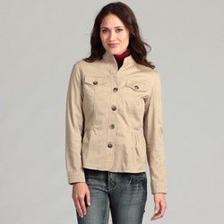 Live a Little Women's Side Tab Jacket