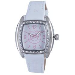 Baci Abbracci Women's White Patent Leather Watch