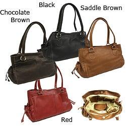 Piel Leather Women's Shopper Tote Bag