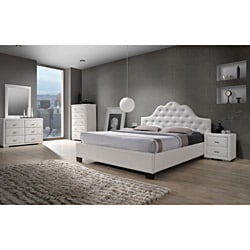 Cassidy White Queen Size 5 Piece Bedroom Set