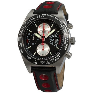 Tissot Men's T0214142605100 Chronograph Black Automatic Watch