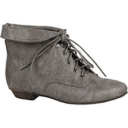 Modesta by Beston Women's 'Tiko-01' Grey Booties