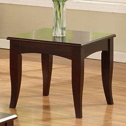 Cappuccino Sofa End Table