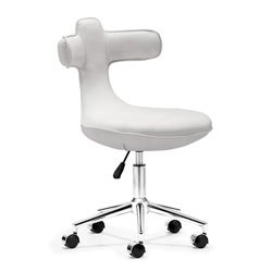 Cozy White Office Chair