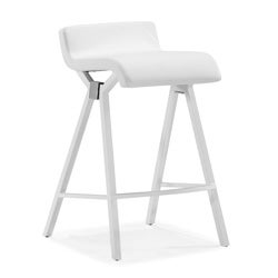 Xert White Counter Chair (Set of 2)