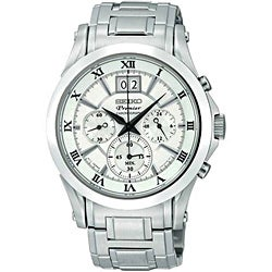 Seiko Men&#39;s Premier Chronograph Watch