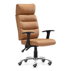 Zuo Unity Clay Leatherette Office Chair