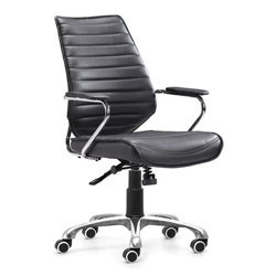 Enterprise Low Back Black Office Chair